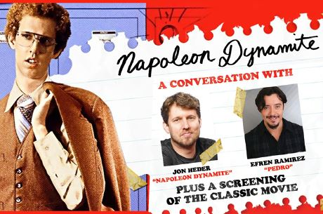 NapoleonDynamite Poster with Jon Heder and Efren Ramirez