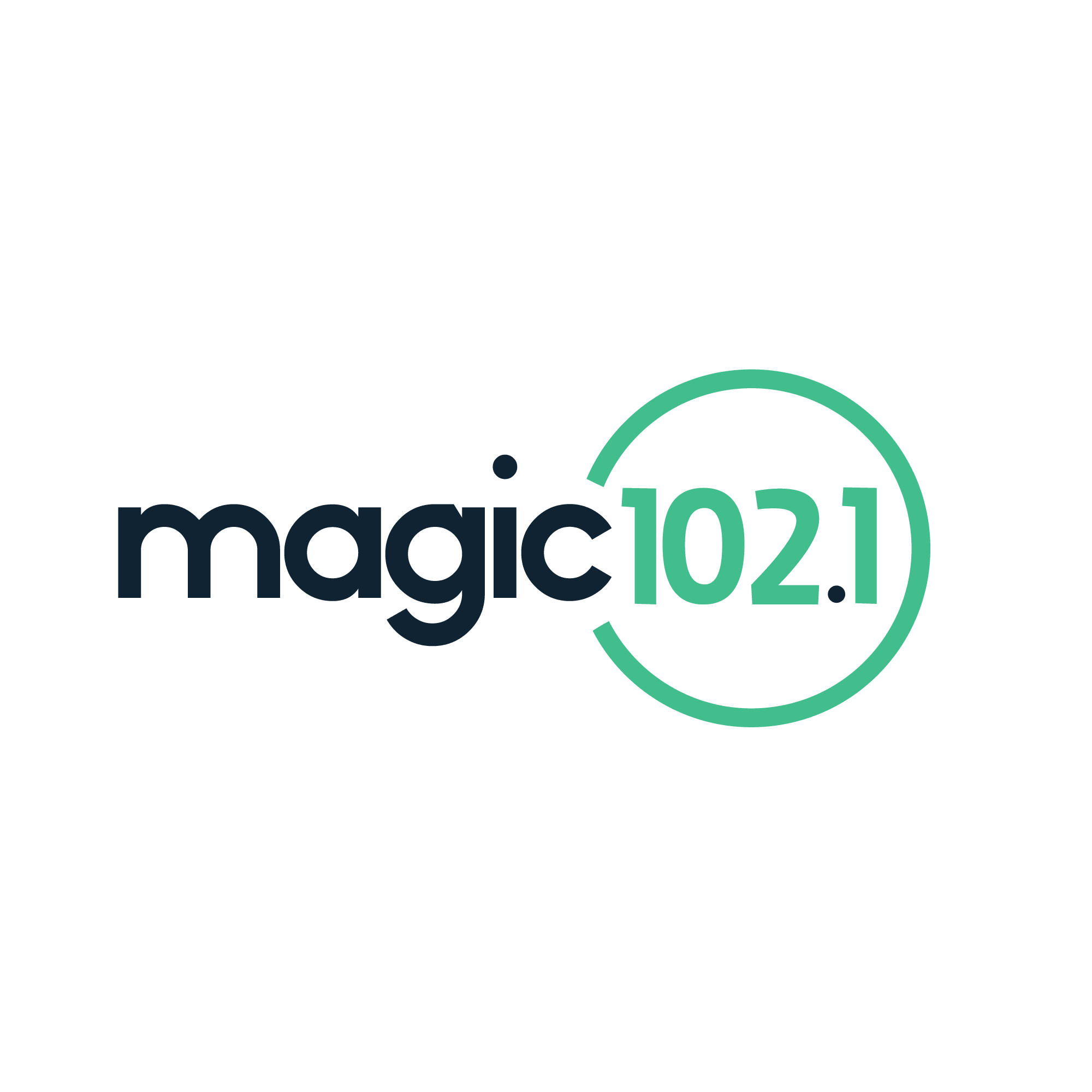 Magic 102.1 logo
