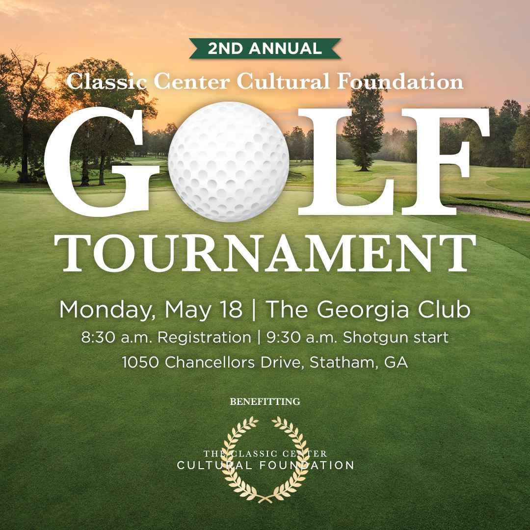 Cultural Foundation Golf Tournament on Monday, May 18 at The Georgia Club