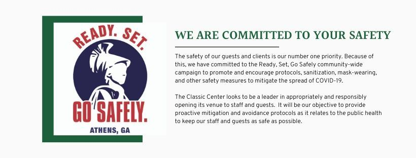 WeAreCommitted to your safety.  The safety of our guests and clients is our number one priority.  Be