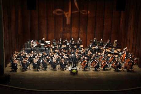 Athens Symphony Orchestra on stage