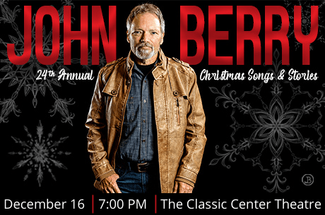 Christmas songs and stories with John Berry. 24th anniversary tour.