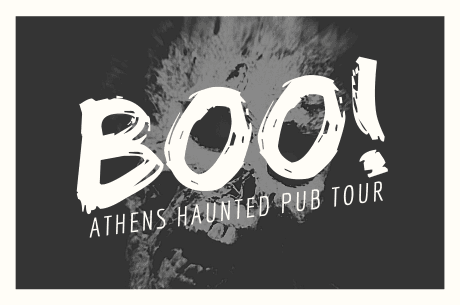 Boo!  Athens Haunted Pub Tour
