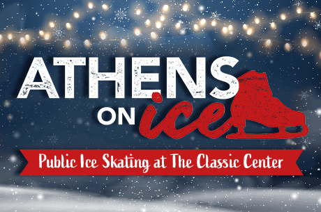 Athens on Ice. Public Ice Skating at The Classic Center