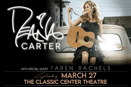 Deana Carter at The Classic Center Theatre March 27