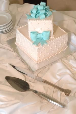 Wedding Cake and Tableware